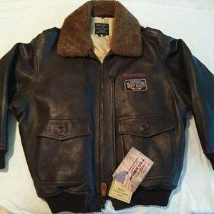 Other - Vintage Lambskin Flight Jacket